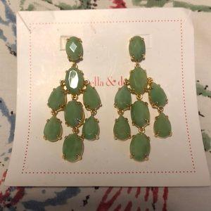 Stella & Dot earrings NWOT